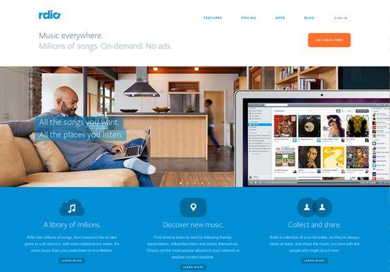 www.rdio.com via