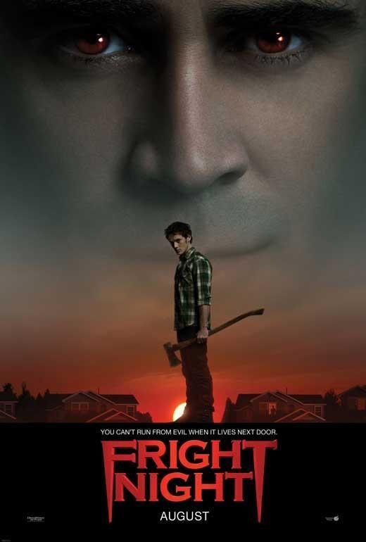 Fright Night 27x40 Movie Poster 2011 Fright Night 2011 Colin