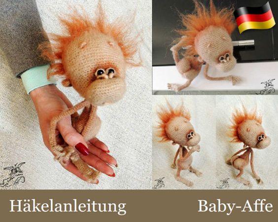 Gorro monito a crochet.monkey hat sock monkey hat crochet