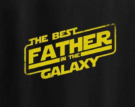 Fathers Day Yoda Han Solo Skywalker Chewbacca Dad T-Shirt