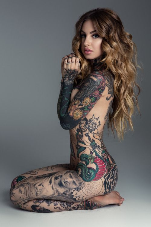 Consider, that Women full body tattoos nude remarkable