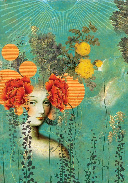 Anahata Katkin - a great inspiration to me. get her art at Papaya Inc