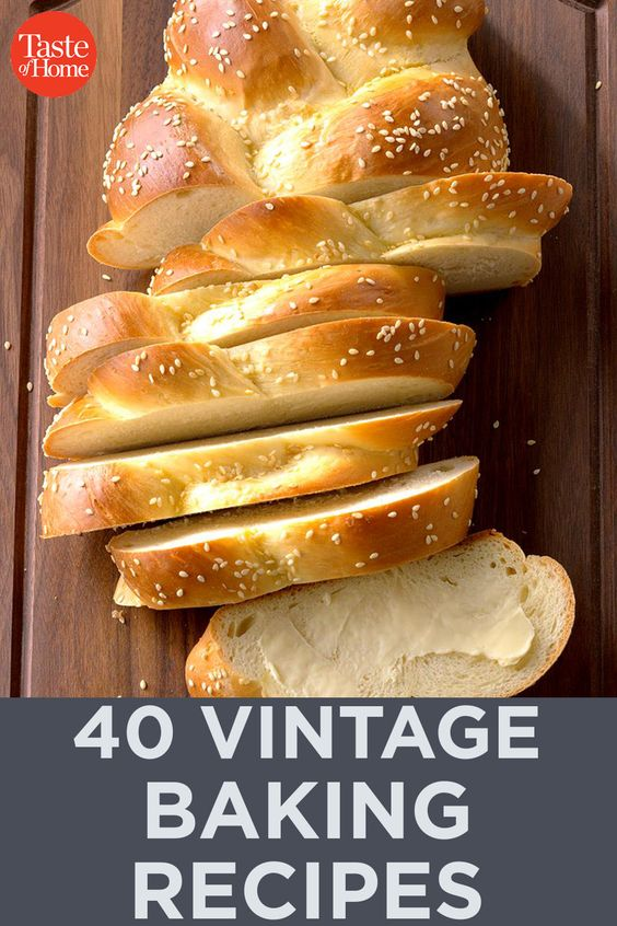 40 Vintage Baking Recipes