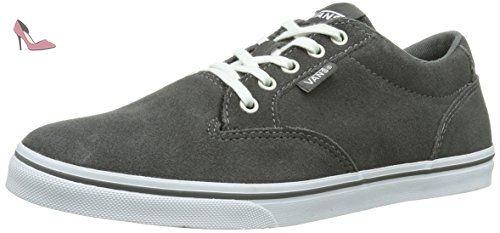 Authentic Slim, Sneakers Basses Mixte Adulte, Gris (Chambray/Gray/TRUE White), 37 EU (4.5 UK)Vans