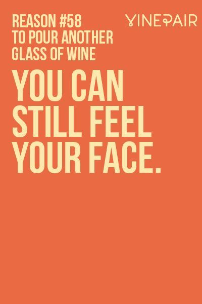 101 Reasons To Pour Another Glass Of Wine | VinePair http://ibeebz.com