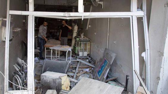 Artsen willen terug naar Oost-Aleppo | NOS