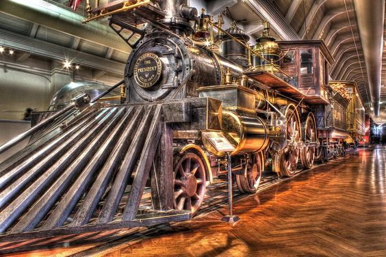 Steam Engine in the Henry Ford Museum, Dearborn, MI