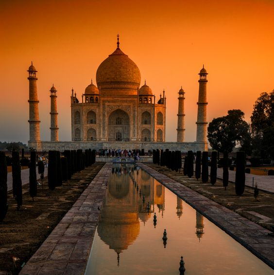 Taj mahal, Sunrises and Photographs on Pinterest