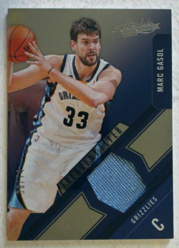 MARC GASOL 2012-13 Absolute Frequent Flyer MATERIALS/74