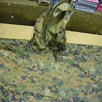 Woodland Digital Marpat Poncho -- Barre Army/Navy Store Online Store