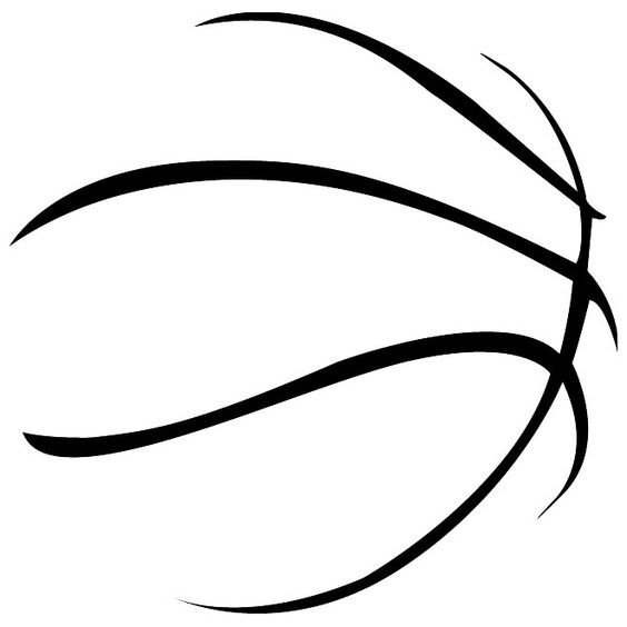 Basketball abstract imageeps silhouette cameo vinyl heat transfer vinyl fonts pinterest for Free basketball vector