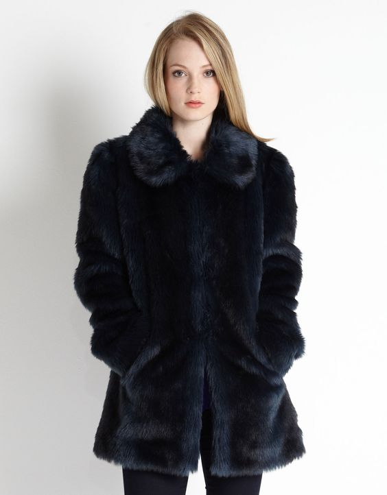 Alexa Faux Fur Coat