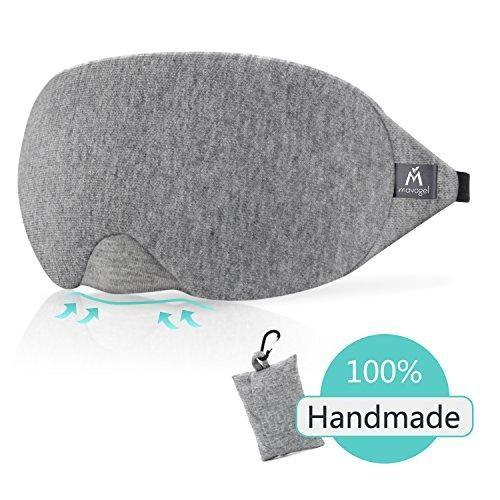 Cotton Sleep Eye Mask 100 Light Blocking Sleep Mask Comfortable Lightweight Sleeping Mask With Adjustable Strap No Sleep Mask Sleep Eye Mask Comfortable