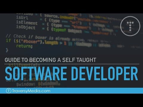 Guide To Becoming A Self Taught Software Developer Youtube In 2020 Software Development Software Development Life Cycle Teaching