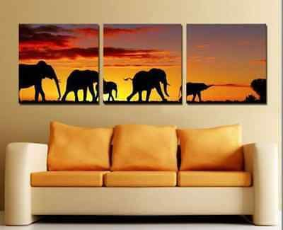 MODERN ABSTRACT HUGE WALL DECOR OIL PAINTING ON ART CANVAS No frame