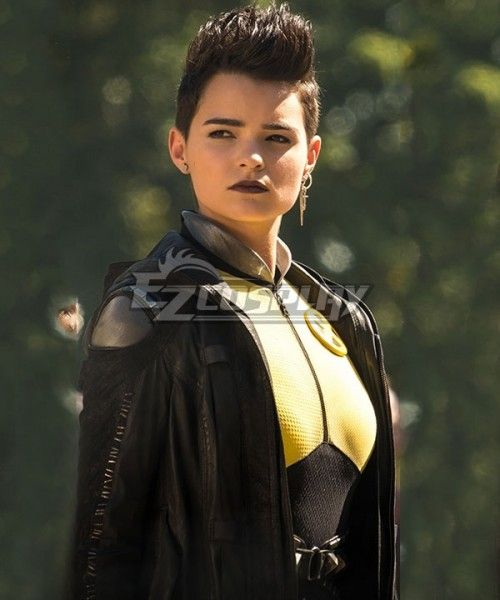 Marvel Deadpool 2 Negasonic Teenage Warhead Ellie Phimister Jacket Cosplay Costume Teenage Warhead Negason Teenage Warhead Teenage Girl Haircuts Nerd Hair