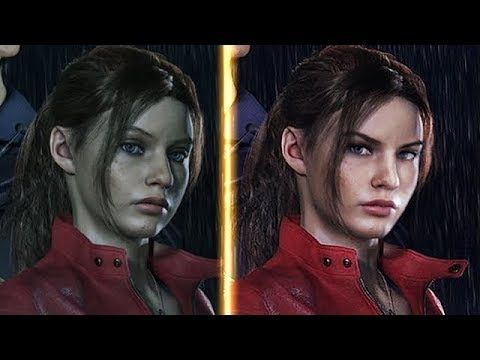 Resident Evil 2 Remake PS4 Pro vs PC ( 4K ) Early Graphics
