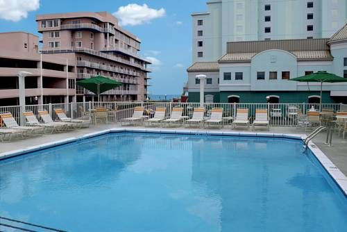 Quality Inn Oceanfront On 54th In Ocean City Has A Tropical Retreat Within Their 5 St With Images Ocean City Hotels Ocean City Maryland Hotels Ocean City Maryland Vacation