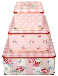 Oh my!: Tin Boxes, Shabby Chic, Greengate Tins, Boxes Tins, Pink Tins, Greengate Cath, Kidston Greengate, Green Gate