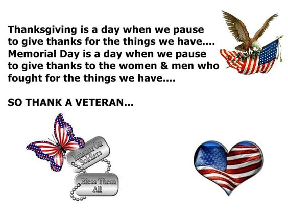 meaning of memorial day vs veterans day