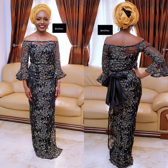 Check This Beautiful Aso Ebi Lace Styles - DeZango Fashion Zone: