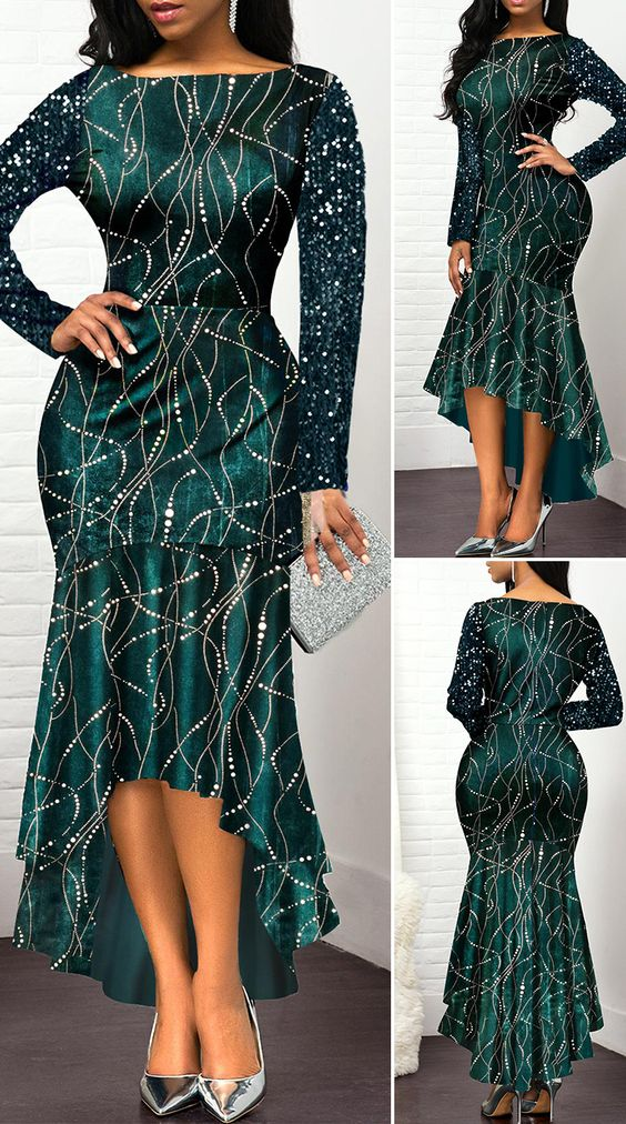 Elegant Dress With Sleeve outfit fashion casualoutfit fashiontrends