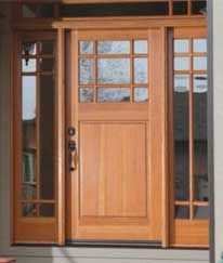 Craftsman Entry Doors With Glass And French Doors On