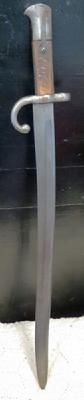 GERMAN WW1 BEAUTIFUL LONG ARM BAYONET - $145.00 USD
