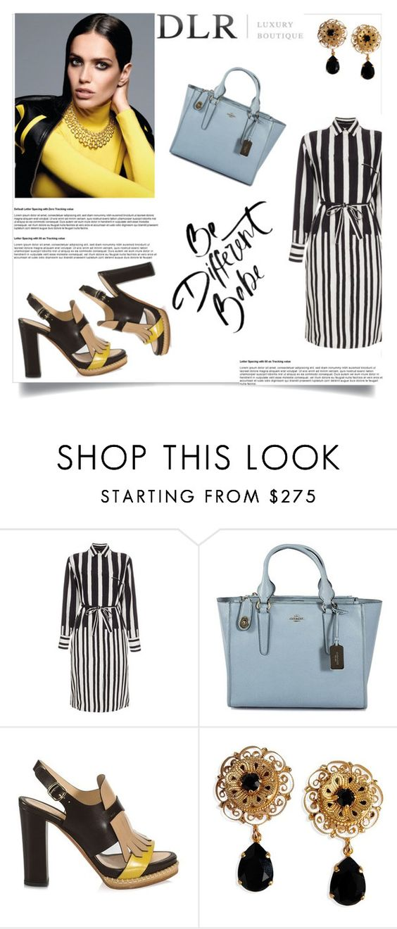 """DLR contest"" by jasmina-fazlic ❤ liked on Polyvore featuring Paul Smith, Coach, Santoni, Dolce&Gabbana and dlrboutique"