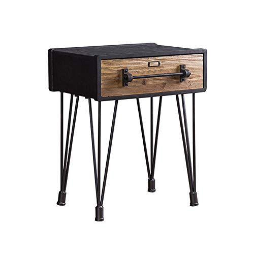 Lina Retro Bedside Table Simple Modern Small Coffee Table