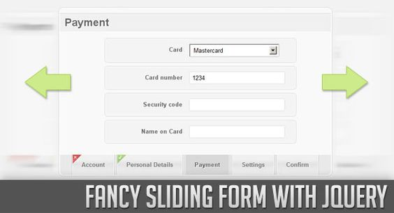 Fancy Sliding Form with jQuery Fancy, Web development and - 360 degree feedback form