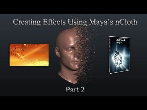 ▶ Useful Effects Using Maya and nCloth: Part 2 by TheCGBros - YouTube