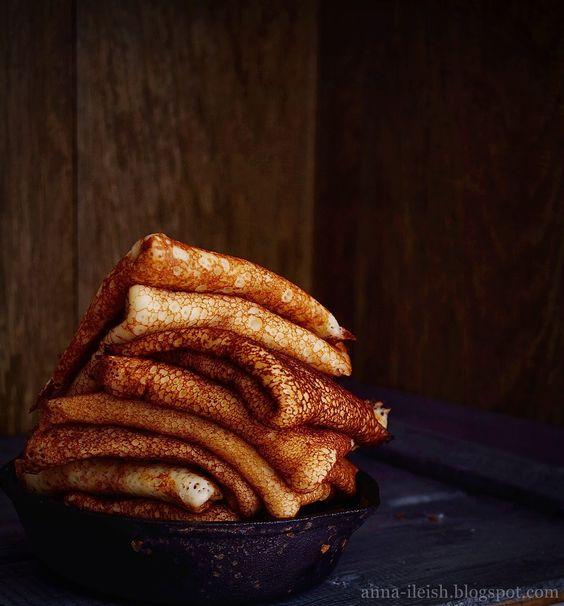 Вкусные домашние обеды: Заварные блины