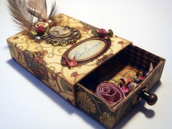 Liebesbox Lose Ideen.Liebesbox Basteln