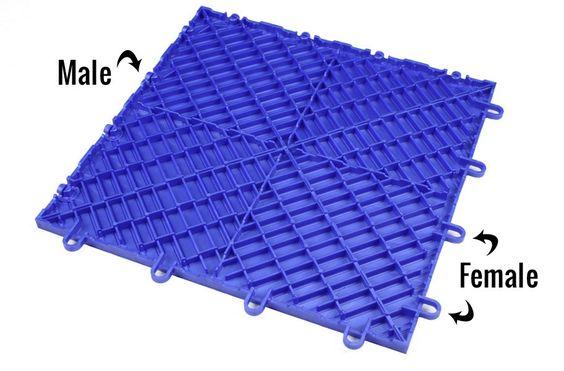 Diamond Grid Loc Tiles Snap Together Garage Floor Tiles In 2020 Garage Floor Tiles Garage Tile Garage Floor