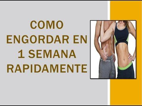 Como recuperar masa muscular despues de perder peso. adelgazar engordar