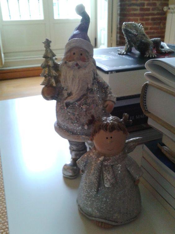 Noel y angelita (más amigo invitado)