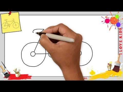 Fahrrad Zeichnen 4 Schritt Fur Schritt Fur Anfange In 2020