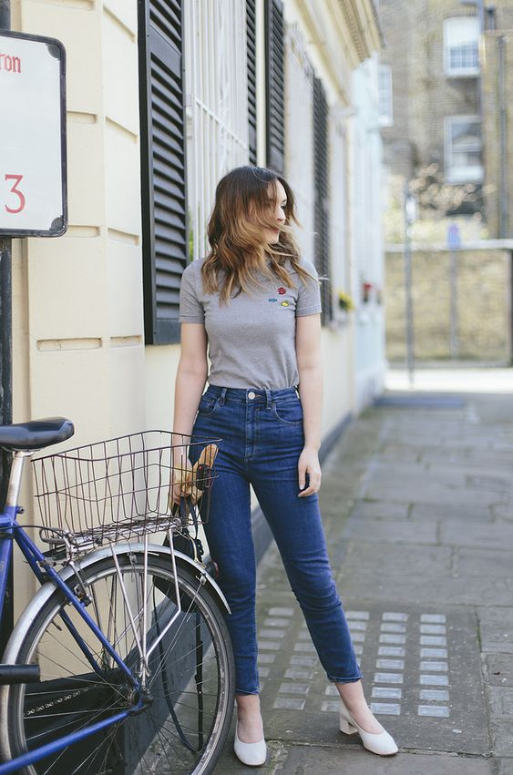 Look calça cintura alta perfeita