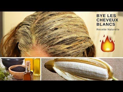 Remede Naturel Pour Cacher Les Cheveux Blancs Naturellement