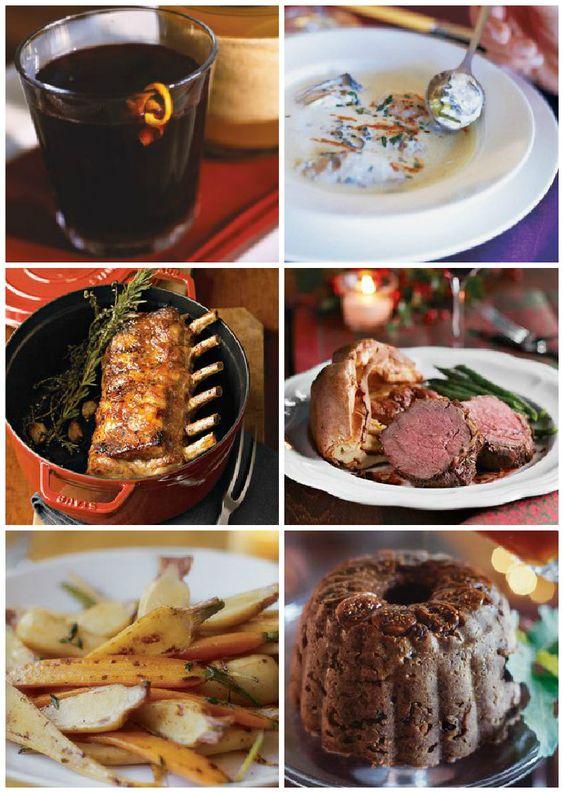 Traditional english christmas dinner food porn for Southern christmas dinner menu ideas