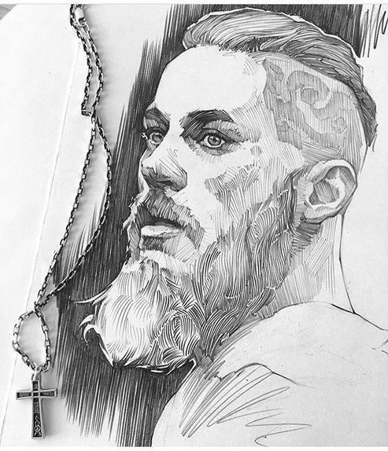 Artist / (@artfironov.) Ragnar Lothbrok