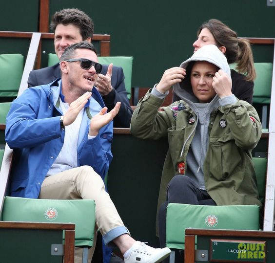 """LukeEvans_News on Twitter: """"Luke Evans attends day 13 of the 2016 French Open, Paris, June 3rd, via JustJared https://t.co/8tDalv2Tjh https://t.co/hHxL7nCRg7"""""""