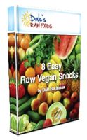 FREE ebook - 8 Easy Raw Vegan Snacks - download from http://dalesrawfoods.com