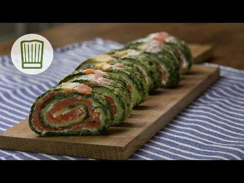 Lachs-Spinat-Rolle Rezept #chefkoch - YouTube