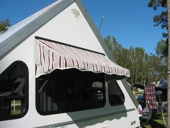 Lovin The Awning On This A Frame A Frame Folding Pop