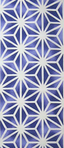 紫ぼかしの幾何学模様