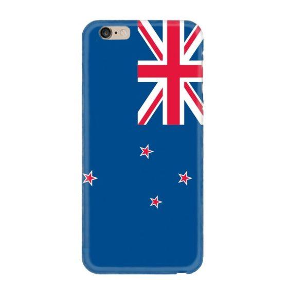 Look! My DIY : Flag of New Zealand iPhone case , free shipping 2016 | diythinker.com