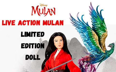 Live Action Mulan Limited Edition Doll With Phoenix First Image And Release Date In 2020 Live Action Mulan Different Emotions