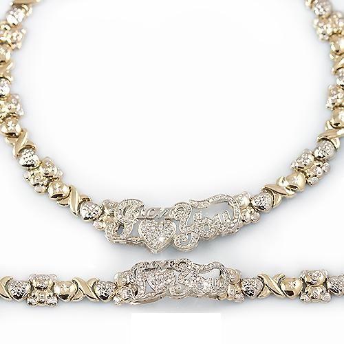 Sterling silver xoxo bracelet